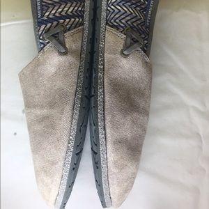 Merrill Women's Slip on Canvas Shoes SZ 8